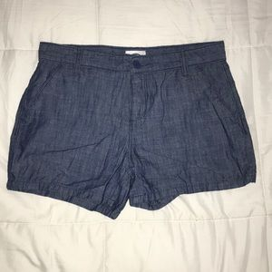 Navy relaxed shorts